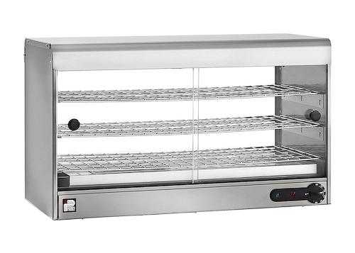 3 Shelve Electric Heated Pie Cabinet