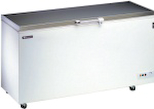 Stainless Steel Lid Chest Freezer