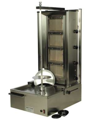 Doner Kebab Machine - 4 Burner